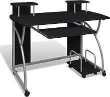 vidaXL Computertisch PC Tisch Mobiler
