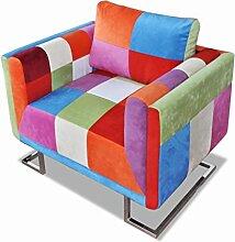 vidaXL Cube Sofa Lounge Wohnzimmerstuhl Couch