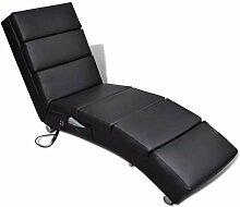 vidaXL Elektro Massageliege Massagebank