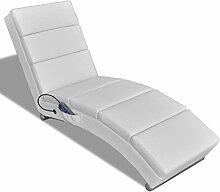 vidaXL Elektro Massageliege Massagebank Relaxliege