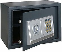 vidaXL Elektronisch Safe Möbeltresor Panzerschrank Dokumententresor Geldschrank