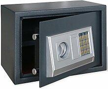vidaXL Elektronischer Safe Möbeltresor Panzerschrank Dokumententresor Geldschrank