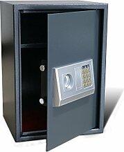 vidaXL Elektronischer Safe Möbeltresor Panzerschrank Geldschrank Dokumententresor
