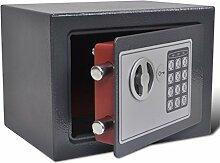 vidaXL Elektronischer Safe Wandtresor Möbeltresor Dokumententresor Geldschrank