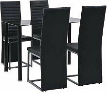 vidaXL Essgruppe 5-TLG. Esszimmertisch Tischset