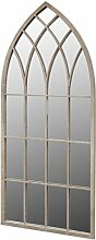 vidaXL Fensterspiegel 115x50cm Wandspiegel