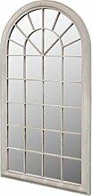 vidaXL Fensterspiegel 116x60cm Wandspiegel