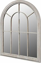 vidaXL Fensterspiegel 89x69cm Wandspiegel
