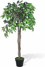 vidaXL Ficus Benjamini Birkenfeige Kunstpflanze