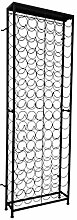 vidaXL Flaschenregal 108 Flaschen Metall