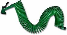 vidaXL Flexibler Gartenschlauch Spiralschlauch