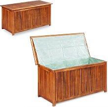 vidaXL Gartenbox 117×50×58 cm Massivholz Akazie