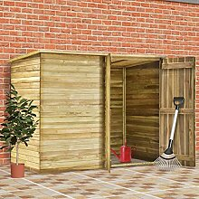 vidaXL Gartenhaus, 232 x 110 x 170 cm,