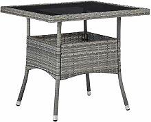 vidaXL Gartentisch für 4 Personen Esstisch