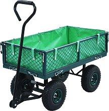 vidaXL Gartenwagen Grün 250 kg