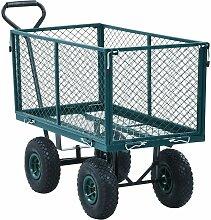 Vidaxl - Gartenwagen Grün 350 kg