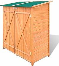 vidaXL Gerätehaus Holz Geräteschuppen