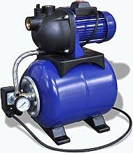 vidaXL Hauswasserwerk 1200 w 3700 L/h Gartenpumpe