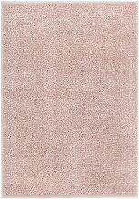 vidaXL Hochflor-Teppich 160 x 230 cm Altrosa