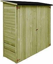 vidaXL Holz Imprägniert Geräteschuppen