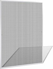 Vidaxl Insektenschutz Fenster 130X150 Cm Alu