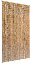 vidaXL Insektenschutz Türvorhang Bambus 100x200cm