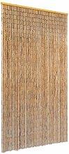 vidaXL Insektenschutz Türvorhang Bambus 100x220cm
