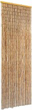 vidaXL Insektenschutz Türvorhang Bambus 56x185cm
