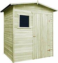 vidaXL Gartenhaus Holz 2x1,5m 19mm Gerätehaus Geräteschuppen Schuppen Holzhaus