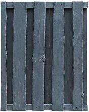 vidaXL Kiefer Imprägniert Gartentor 100x125 cm