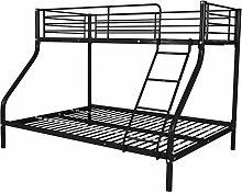 vidaXL Kinderbett Etagenbett Hochbett Doppelstockbett 200x140/200x90 cm Metall