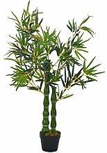 vidaXL Künstliche Pflanze Bambus mit Topf