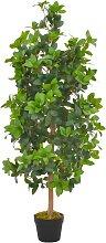 vidaXL Künstliche Pflanze Lorbeerbaum mit Topf