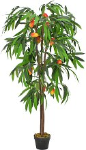 vidaXL Künstliche Pflanze Mangobaum mit Topf