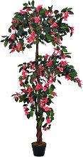 vidaXL Künstliche Pflanze Rhododendron mit Topf
