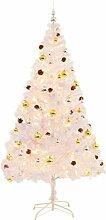 vidaXL Künstlicher Weihnachtsbaum Geschmückt