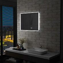 vidaXL LED-Badspiegel mit Touch-Sensor und