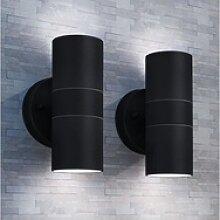 vidaXL LED Glaskantenbeleuchtung vidaXL 2x