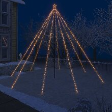 vidaXL LED-Lichterkette Weihnachtsbaum Indoor