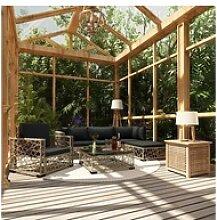 vidaXL Loungeset vidaXL 6-tlg, Garten-Lounge-Set