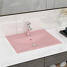 vidaXL Luxuriöses Waschbecken mit Hahnloch
