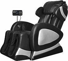 vidaXL Luxus Fernsehsessel Massagesessel Kunstleder Relaxsessel Massage Ruhe TV Sessel