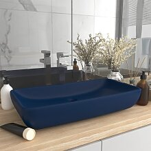 vidaXL Luxus-Waschbecken Rechteckig Matt