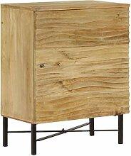 vidaXL Mangoholz Sideboard 60x35x75 cm