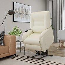 vidaXL Massage-TV-Sessel mit Aufstehhilfe