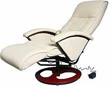 vidaXL Massagesessel Elektrisch Fernsehsessel