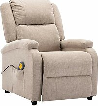 vidaXL Massagesessel Elektrisch Heizfunktion