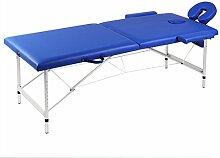vidaXL Mobile Alu Massagetisch Massagebank Liege