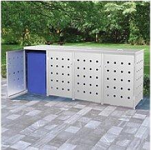 vidaXL Mülltonnenbox 960 l