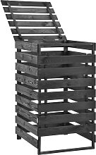 vidaXL Mülltonnenbox für 1 Tonne 70x75x121cm